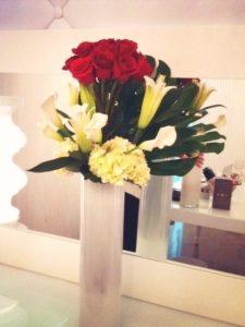 Roses on Top Arrangement Flower Bouquet