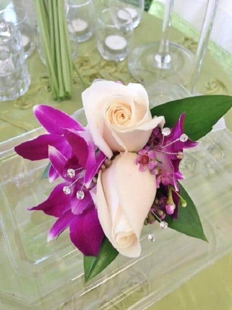 Corsage pink secretprom corsage flowers miami delivery corsage pink secret mightylinksfo