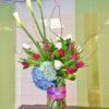 tulips meet callas