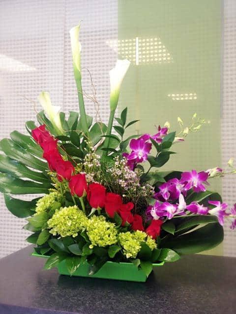 Oriental Arrangement Flower Bouquet Delivery Online in Miami
