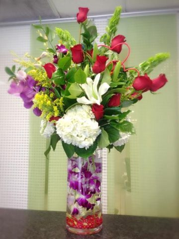 Underwater Orchid Arrangement Flower Bouquet