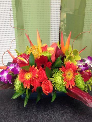 Hawaiian Tropical Flower Bouquet