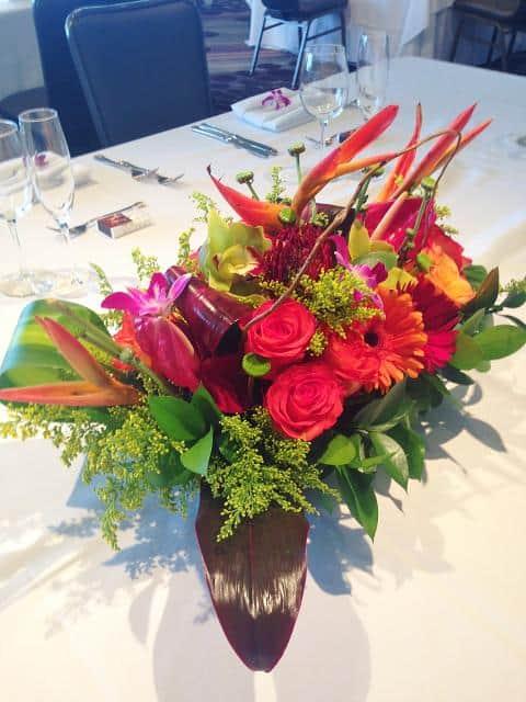Hawaiian Tropical Arrangement Flower Bouquet Miami Delivery