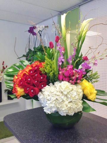 Bowl Zen Style Bouquet