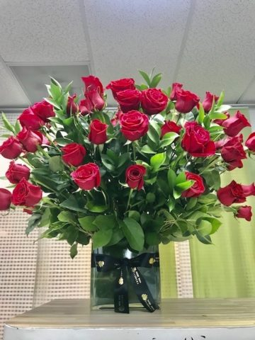 benjamin roses bouquet
