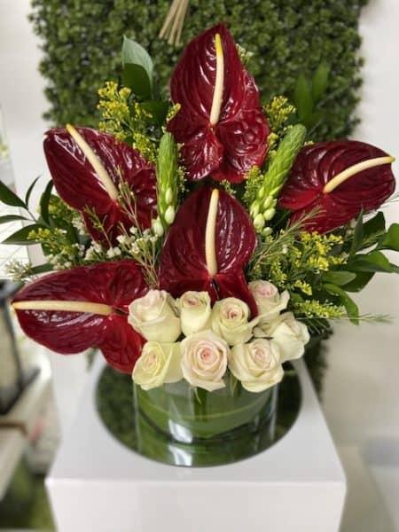 Anthuriums Arrangement Flower Bouquet