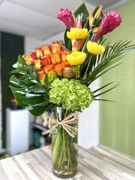 Tropical Gingers Arrangement Flower Bouquet