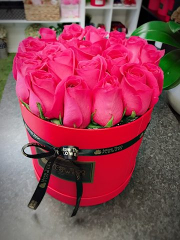 pink panther rose box