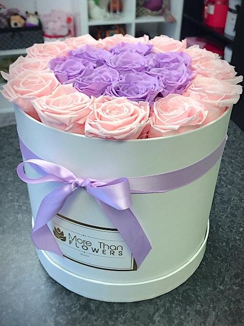 round box eternity roses