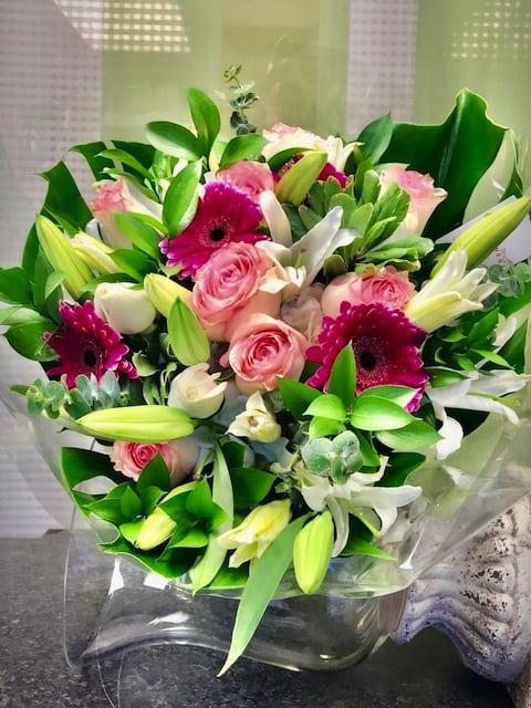 fleur de lis bouquet