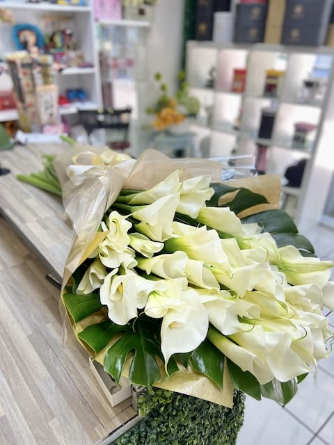 Calla Lily Hand Tied Bouquet