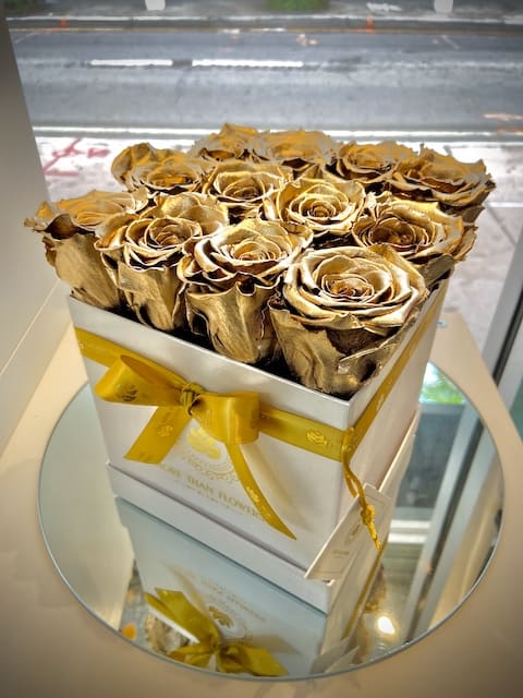 Eternal Roses Square Box